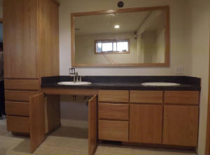 Wheelchair Accessible Bathroom Cabinets Marysville