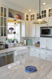 Farmhouse Kitchen Cabinets Camano Island