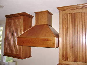 Cabinets with Custom Designed Hood  Stanwood